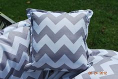 Shopping Cart Cover Boutique Gray Chevron by ThreeLittleMiracles, $65.00