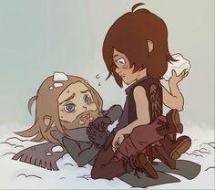 Daryl and Jesus #Desus #Daryl