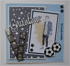 Velkommen inn Confirmation Cards, Boy Cards, Graphic 45, Masculine Cards, Creative Words, Little People, Envelope, Birthday Cards, Projects To Try