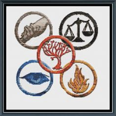 Divergent faction symbols