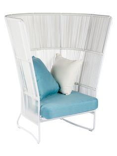 Dream High Back Chair Indoor/Outdoor from Rooftop Retreat on Gilt