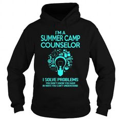 Awesome Tee Summer Camp Counselor Shirts & Tees