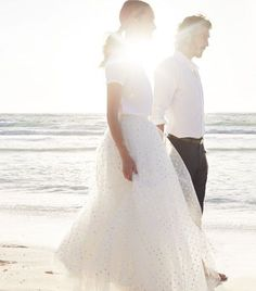 J CREW - T-SHIRT AND TULLE SKIRT - WEDDING