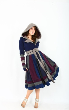 I want to make this coat...I think I might...just with a solid color :)