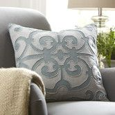 Found it at Birch Lane - Estelle Linen Pillow Cover, Pool