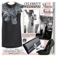 """You're Invited: Celebrity Wedding"" by katjuncica ❤ liked on Polyvore featuring KLING, Swarovski, Stephen Webster and CelebrityWedding"