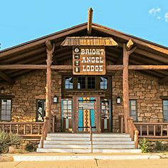 Bright Angel Lodge & Cabins, Grand Canyon, AZ; a member of Historic Hotels of America since 2012, was built in 1935, has a natural, rustic character, and is listed in the National Register of Historic Places.