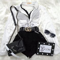 Outfit - Source by brunadionisiaaa - Cute Swag Outfits, Cute Comfy Outfits, Edgy Outfits, Outfits For Teens, Pretty Outfits, Teenager Outfits, Girls Fashion Clothes, Winter Fashion Outfits, Look Fashion