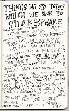 Shakespear's Words