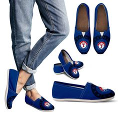 Enormous Logo Mix Tiny Logo Fantastic Texas Rangers Casual Shoes – Best Funny Store