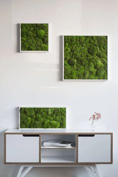 Indoor Plant Wall, Moss Plant, Moss Wall Art, Forest House, Inspired Homes, Kugel, Plant Decor, Framed Wall Art, Decoration