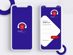Hello Everyone Here is my new shot of Health Care Call Centre project Splash and Login screen. I hope you like it. Mobile App Design, Mobile Login, App Login, Android App Design, Android Ui, Login Design, App Ui Design, Splash Screen, App Design Inspiration