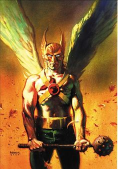 Hawkman by Andrew Robinson *