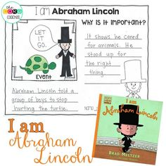 """Brings history to life with a kid-friendly approach- """"I am Abraham Lincoln"""""""