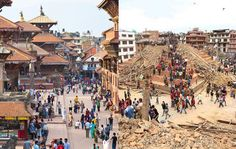 Nepal Earthquake: Famous Historic Sites Before and After the Quake