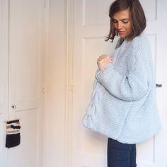 7 gilets oversize faciles à tricoter pour l'hiver