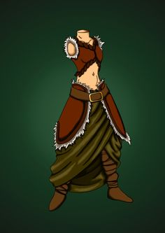 LARP costume 01 by ~DutchManArts on deviantART - like the style, less flesh showing is better though.