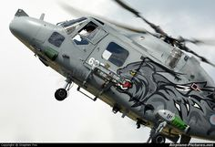 Officially the world's fastest helicopter. Westland Lynx 400kph.
