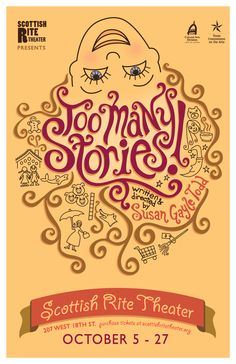 Too Many Stories  - poster