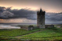 Doonagore Castle, Ireland.