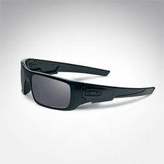 de68bb1323839  +  View Larger Image Oakley Polarized Crankshaft Sunglasses - Matte Black Black  Iridium