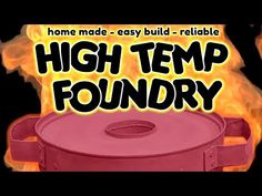 A simple homemade Metal Foundry for casting metals at Home! Melt soda cans, recycle metal and cast in aluminium in your backyard. Use it as a mini forge. Metal Clay, Metal Art, Mini Forge, Welding Gear, Melting Metal, Metal Casting, Knife Making, Hobbies And Crafts, Blacksmithing