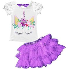 Mother & Kids Girls' Clothing Confident Emmababy Cute Cartoon Unicorn Kids Baby Girls Dresses Princess Sundress Summer Flower Sleeveless Party Dress