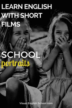 ILearn English Grammar with Movies, -ing and to-infinitive forms in English, Film Lesson,You should definitively watch and learn English with the charming short film, School Portrait, by Nick Scott. #ingandtoinfinitive, #englishgrammarwithfilms, #learnenglishwithmovies via @Visual English School