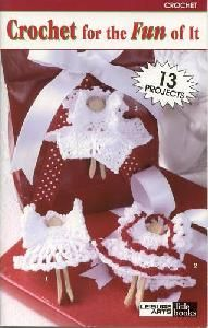 Leisure Arts 75034 Crochet For The Fun Of It Crocheting Patterns, Christmas Knitting, Gingerbread Cookies, Knit Crochet, Fun, Gingerbread Cupcakes, Crochet Patterns, Funny, Hilarious