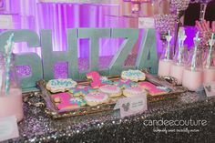 Minnie Mouse cookies, Minnie Mouse desserts, Minnie Mouse Winter Wonderland Dessert Table, Minnie Mouse Dessert Tables,