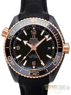 Omega Seamaster Planet Ocean 600m Deep Black 45.5 GMT 215.63.46.22.01.001