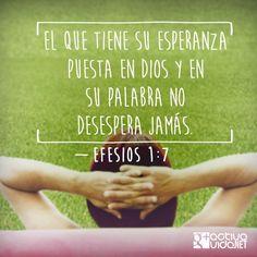 No desesperes y confía en Dios. El nunca falla y llega justo a tiempo. <3