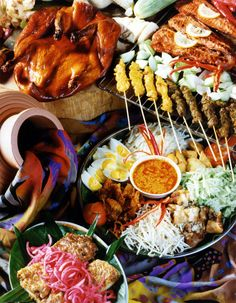 This Malaysian cuisine looks ridiculously delicious! #Malaysia #Food #Travel