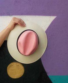 Hat - GoustoMouKeCapeloMou by Elena Chalati #hat #pink #handcrafted #goustomoukecapelomou
