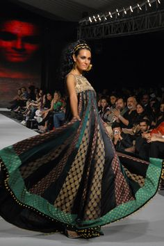 Karma's collection at PFDC Sunsilk Fashion Week 2010.