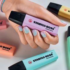 Stabilo boss pastel markers: de mooiste kleuren met hoge kwaliteit inkt.