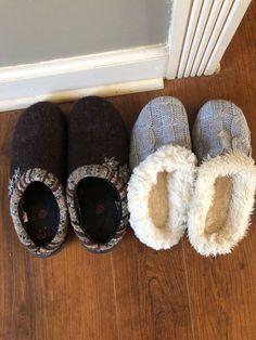 Womens Faux Fur Slide Slippers Knit Fuzz Cozy House Shoes Scuff Mule Sandal