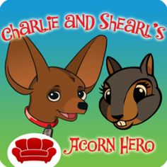 Charlie and Shearl's Acorn Hero - Line Rider Game - Available for #NOOK - only $0.99!