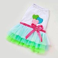 Dogs Gauze Net Sweet Tutu Dress Skirt Pet Dog Cat... – USD $ 8.18