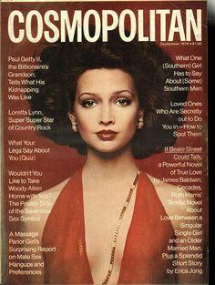Cosmopolitan magazine SEPTEMBER 1974 Model: Pola Photographer: Francesco Scavullo