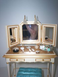Silkstone Barbie Vanity and Accessories