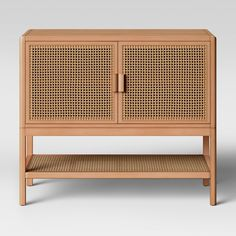 Minsmere Caned Chest Natural Brown - Opalhouse™ - image 1 of 3 Cane Furniture, Furniture Hardware, Furniture Legs, Furniture Sale, Living Room Furniture, Antique Furniture, Wooden Furniture, Furniture Movers, French Furniture