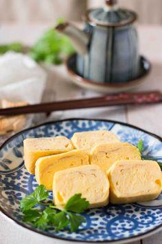 Atsuyaki Tamgao Japanese rolled Egg