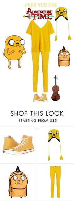 """Jake The Dog"" by turtlesarecool1998 ❤ liked on Polyvore featuring Converse, M Missoni and MANGO"