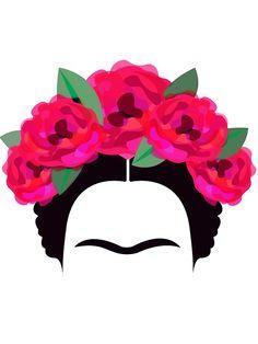 'Frida Kahlo Minimalist' Photographic Print by edleon Frida Kahlo Artwork, Frida Paintings, Frida Art, Freida Kahlo Paintings, Frida Kahlo T Shirt, Frida Kahlo Tattoos, Minimalist Tattoo Meaning, Minimalist Art, Fridah Kahlo