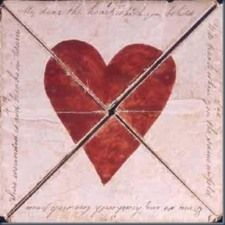 "A 1790 handmade valentine puzzle housed at the British Postal Museum. The text reads: ""My dear the Heart which you behold, Will break when you the same unfold, Even so my heart with lovesick pain, Sure wounded is and breaks in twain. Funny Valentines Cards, Vintage Valentines, Victorian Valentines, I Love Heart, Happy Heart, Humble Heart, Saint Valentine, Be My Valentine, Valentine Images"