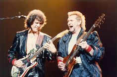 Trevor Rabin and Chris Squire of Yes.... a time and a place...and I liked it!