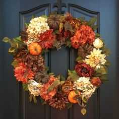 Etsy Autumn Wreaths - Celebrate Fall