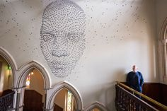 "One of the most amazing effects of 3D was reached by a British artists Steven Follen, who created his masterpiece ""For all time"". Just think how much accurate work was involved, as the whole installation was done with a help if 2000 hand-folded metal stars. The inspiration came to the artist fro…"