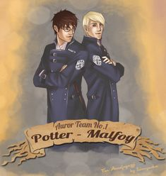 Harry Potter Series - Harry Potter x Draco Malfoy - Drarry